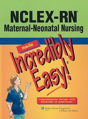 NCLEX-RN® Psychiatric Nursing Made Incredibly Easy! (Incredibly Easy! Series) Lippincott