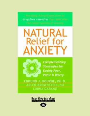 Natural Relief for Anxiety (Easyread Large Edition) 9781458762061