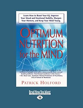 New Optimum Nutrition for the Mind (Large Print 16pt)