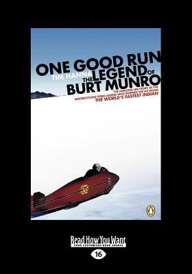 One Good Run (Large Print 16pt)
