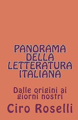 Panorama Della Letteratura Italiana 9781450507325