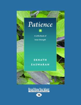 Patience: A Little Book of Inner Strength 9781458778598