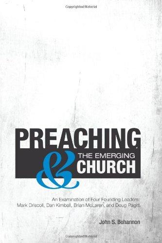 Preaching & the Emerging Church