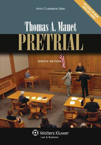Pretrial, Eighth Edition - 8th Edition