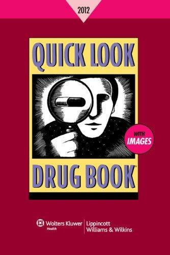 Quick Look Drug Book 2012 9781451110128