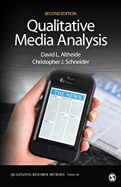Qualitative Media Analysis 9781452230054
