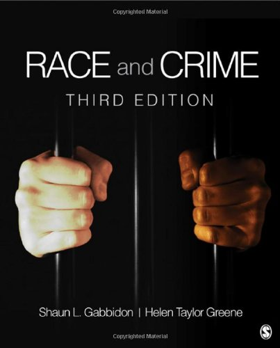 Race and Crime 9781452202600