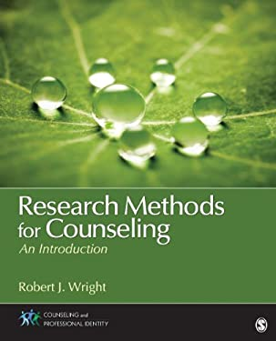 Research Methods for Counseling: An Introduction 9781452203942