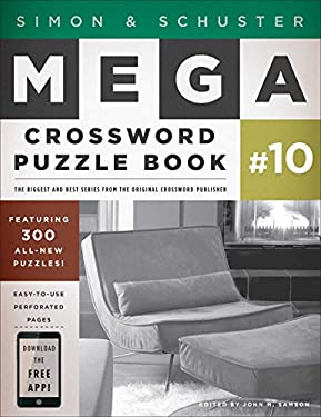 Simon & Schuster Mega Crossword Puzzle Book #10 9781451627381