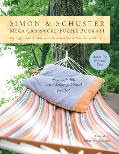 Simon & Schuster Mega Crossword Puzzle Book #11 9781451627398