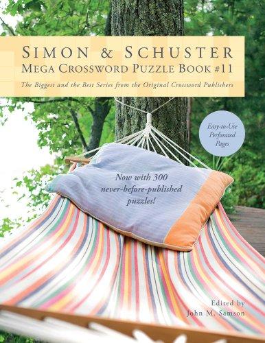 Simon & Schuster Mega Crossword Puzzle Book #11