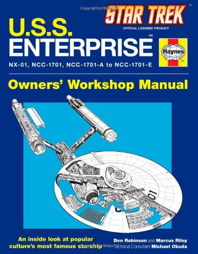 Star Trek: U.S.S. Enterprise Haynes Manual 9781451621297