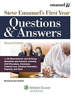Steve Emanuel's First Year Questions & Answers, Second Edition 9781454805250