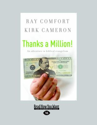 Thanks a Million!: An Adventure in Biblical Evangelism (Easyread Large Edition) 9781458721075
