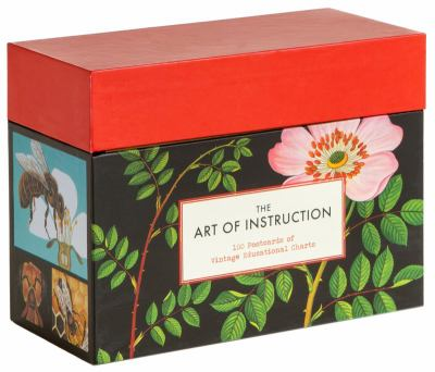 The Art of Instruction: Postcards: 100 Postcards of Vintage Educational Charts 9781452105956