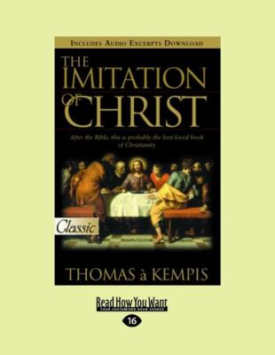 The Imitation of Christ (Easyread Large Edition) 9781458746146