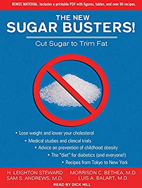 The New Sugar Busters!: Cut Sugar to Trim Fat 9781452608365