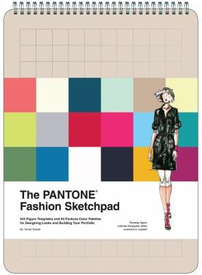 The Pantone Fashion Sketchpad: 420 Figure Templates and 60 Pantone Color Palettes for Designing Looks