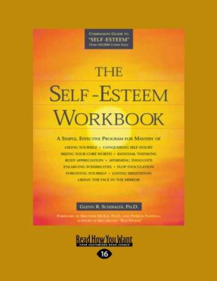 The Self-Esteem Workbook (Easyread Large Edition) 9781458746887