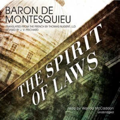 The Spirit of Laws 9781455127542