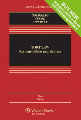Tort Law: Responsibilities & Redress, Third Edition 9781454806882