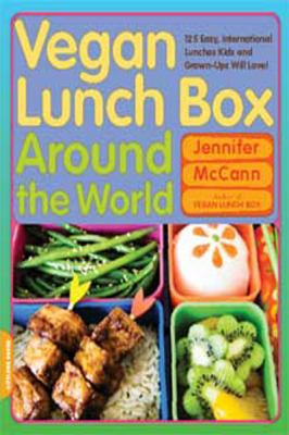 Vegan Lunch Box Around the World (Large Print 16pt) 9781459609174