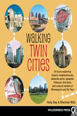 Walking Twin Cities (Large Print 16pt)