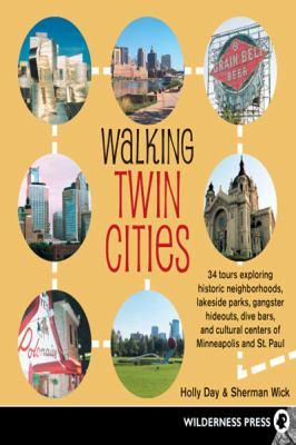 Walking Twin Cities (Large Print 16pt)