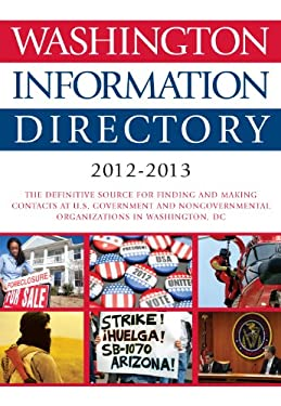 Washington Information Directory 2012-2013 9781452226446