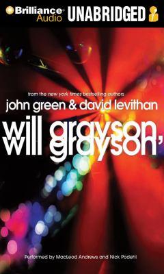 Will Grayson, Will Grayson 9781455870165