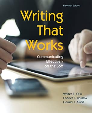 Writing That Works: Communicating Effectively on the Job 9781457611131