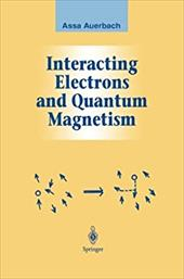 Interacting Electrons and Quantum Magnetism 20449138