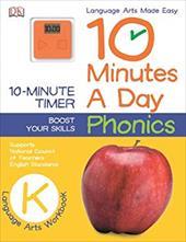 10 Minutes a Day: Phonics, Kindergarten 23686670