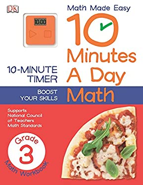10 Minutes a Day: Math, Third Grade (Math Made Easy)
