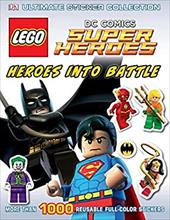 Ultimate Sticker Collection: LEGO DC Comics Super Heroes: Heroes into Battle (Ultimate Sticker Collections) 23093508