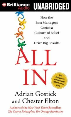 All in: How the Best Managers Create a Culture of Belief and Drive Big Results 9781469202976
