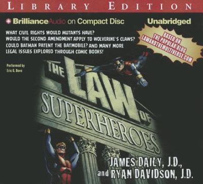 The Law of Superheroes 9781469213675