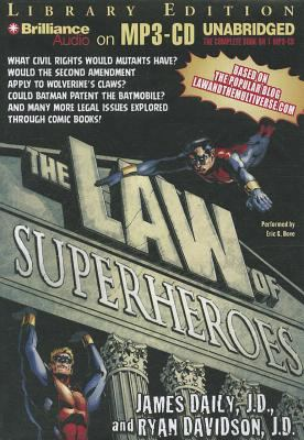 The Law of Superheroes 9781469213682
