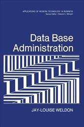 DATA BASE ADMINISTRATION 20563739