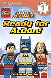 DK Readers: Lego DC Super Heroes: Ready for Action! 19496172