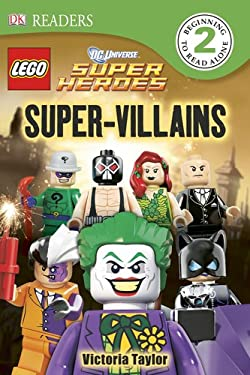 DK Readers: Lego DC Super Heroes: Super Villians 9781465401779