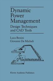 Dynamic Power Management: Design Techniques and CAD Tools 21251040