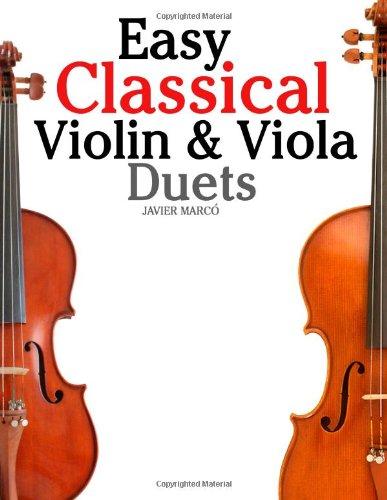 Easy Classical Violin & Viola Duets