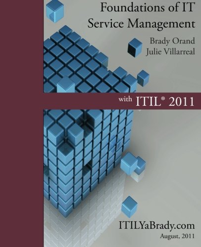 Foundations of It Service Management with Itil 2011 9781466231320
