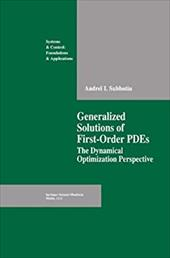Generalized Solutions of First Order PDEs: The Dynamical Optimization Perspective 21367273