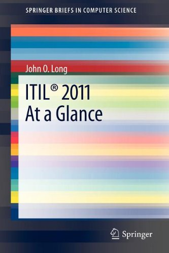 Itil 2011 at a Glance 9781461438960