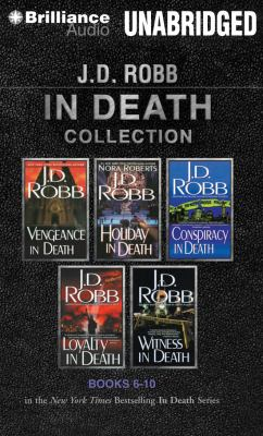 J. D. Robb in Death Collection 2