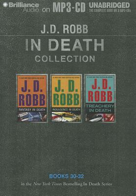 J. D. Robb in Death Collection 7: Fantasy in Death, Indulgence in Death, Treachery in Death 9781469228877