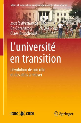 L Universit En Transition: L Volution de Son R Le Et Des D Fis Relever 9781461412359