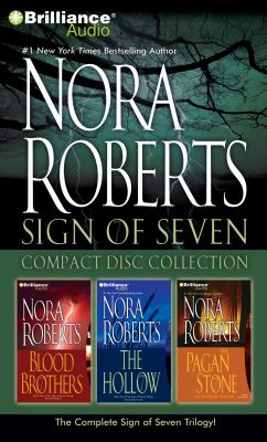 Nora Roberts Sign of Seven CD Collection: Blood Brothers, the Hollow, the Pagan Stone 9781469206028
